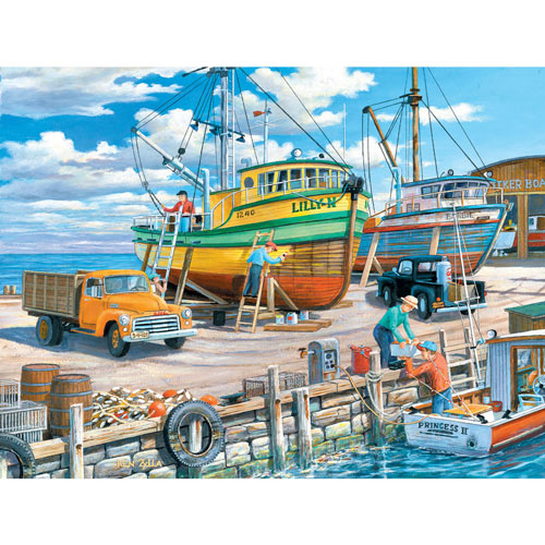 Sisters of the Sea 300 Large Piece Jigsaw Puzzle