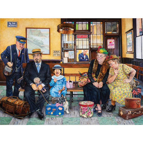 The Critics 300 Large Piece Jigsaw Puzzle