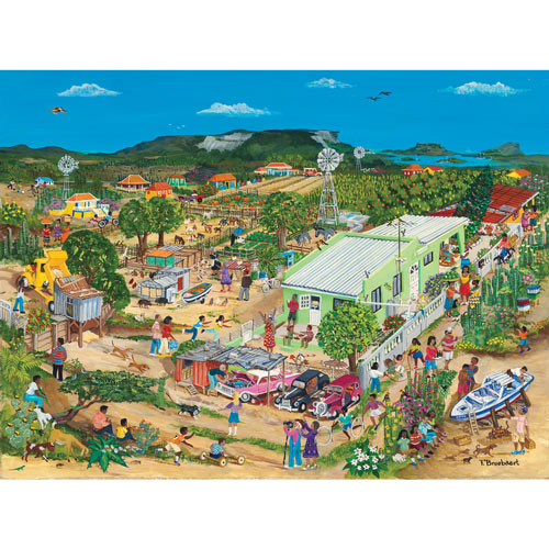The Big Hill 1000 Piece Jigsaw Puzzle