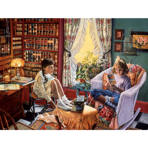 Just a Summer Romance 1000 Piece Jigsaw Puzzle