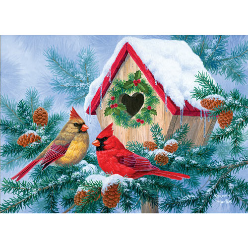 Home Tweet Home 300 Large Piece Jigsaw Puzzle