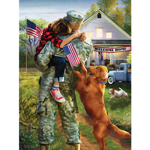 A Warm Welcome Home 300 Large Piece Jigsaw Puzzle