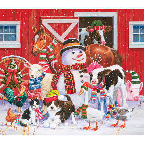Ready for Winter 300 Large Piece Jigsaw Puzzle