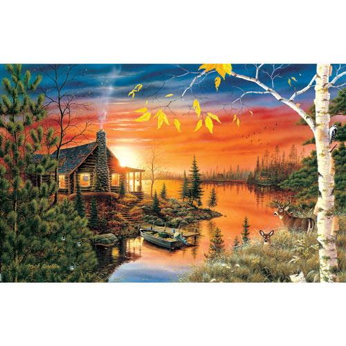 Autumn Evening 550 Piece Jigsaw Puzzle