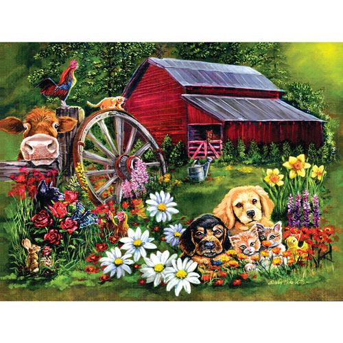 Sweet Country 500 Piece Jigsaw Puzzle
