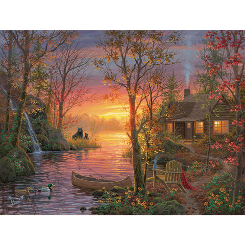 Vacation Time 500 Piece Jigsaw Puzzle