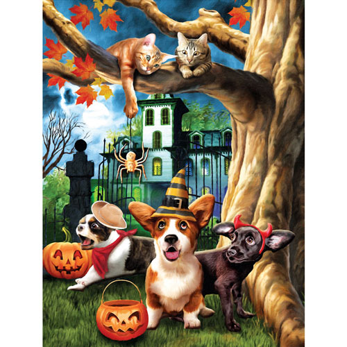 Halloween Hijinks 300 Large Piece Jigsaw Puzzle
