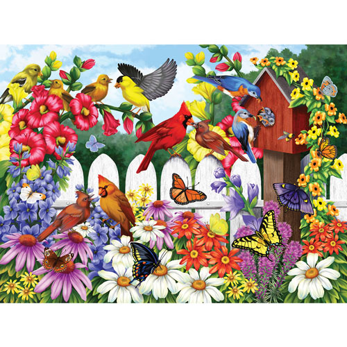 Back Yard Babies 300 Large Piece Jigsaw Puzzle