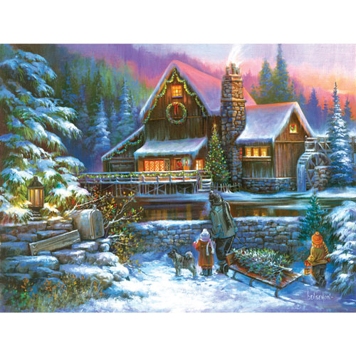 A Family Tradition 500 Piece Jigsaw Puzzle