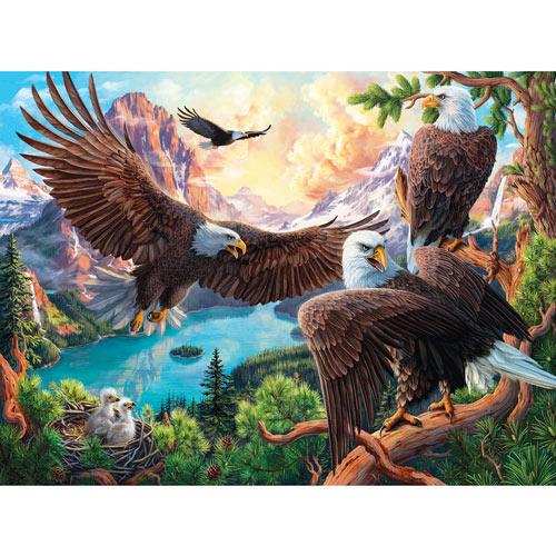 Eagle Dance 1000 Piece Jigsaw Puzzle