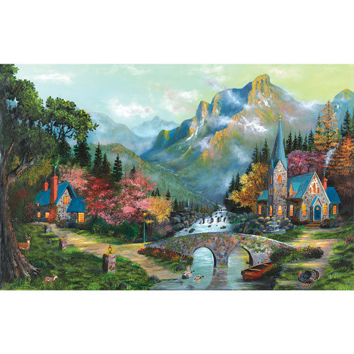 Heavens Overatures 1000 Piece Jigsaw Puzzle