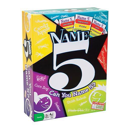 Name 5 Game