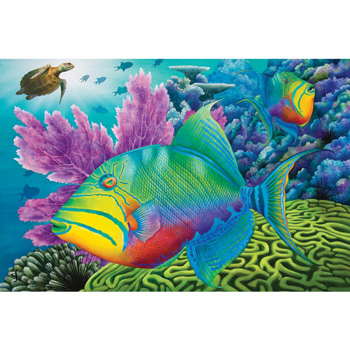 Trigger Happy 300 Large Piece Jigsaw Puzzle