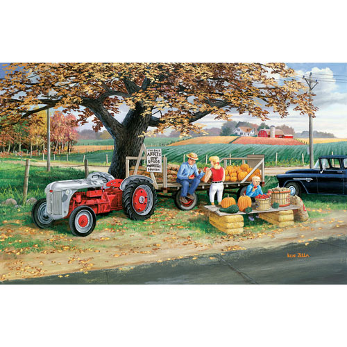 Roadside Harvest 300 Large Piece Jigsaw Puzzle