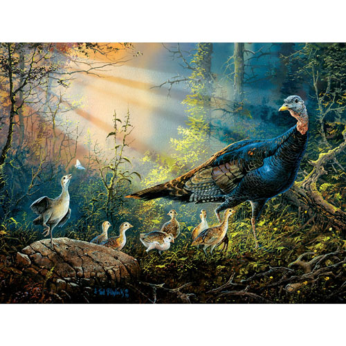 Turkey in the Sunray 300 Large Piece Jigsaw Puzzle