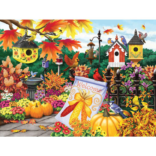 Welcome Autumn 300 Large Piece Jigsaw Puzzle