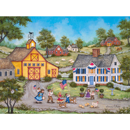 The Children's Parade 300 Large Piece Jigsaw Puzzle