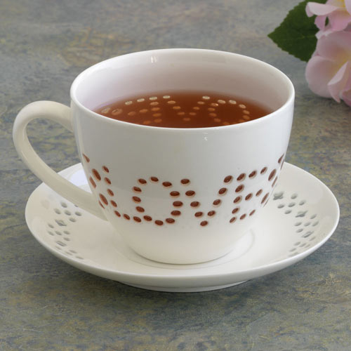 Love Cup and Saucer