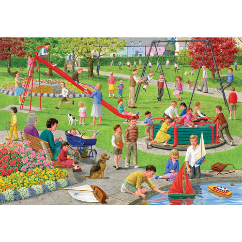Playground 2000 Piece Giant Jigsaw Puzzle