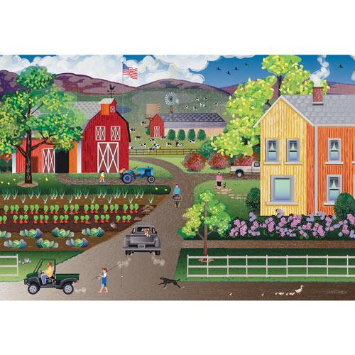 American Heartland 500 Piece Jigsaw Puzzle