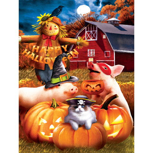 Happy Halloween 300 Large Piece Jigsaw Puzzle
