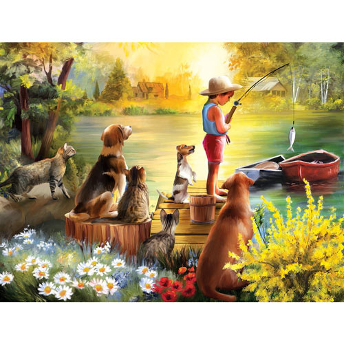 Waiting for Dinner 300 Large Piece Jigsaw Puzzle