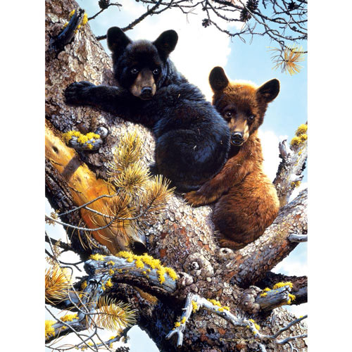 Adventures in the Treetops 300 Large Piece Jigsaw Puzzle