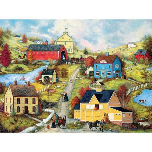 Bridge Country Store Lane 1000 Piece Jigsaw Puzzle