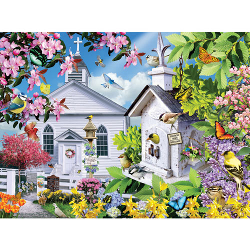 Time for Church 300 Large Piece Jigsaw Puzzle