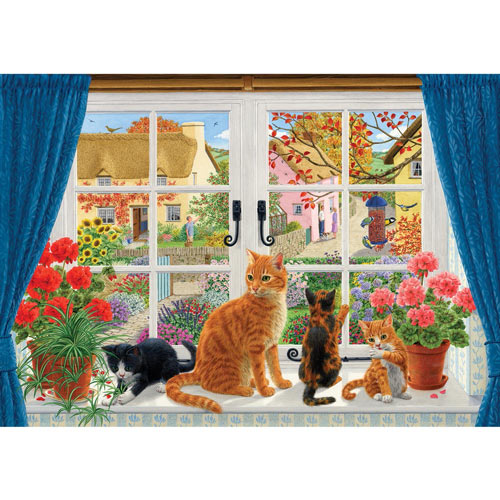 In the Window 300 Large Piece Jigsaw Puzzle