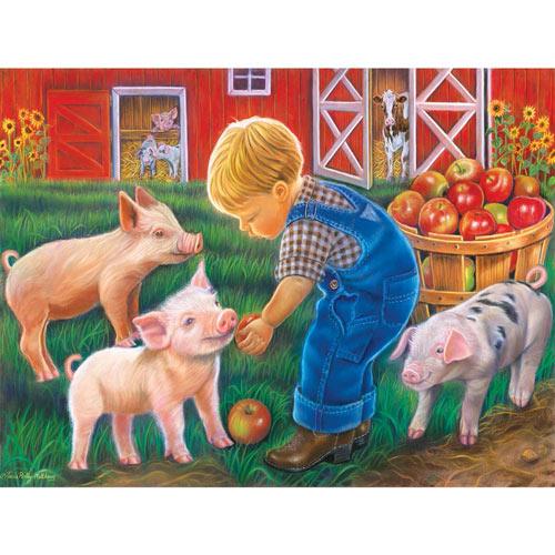 Farm Boy 300 Large Piece Jigsaw Puzzle