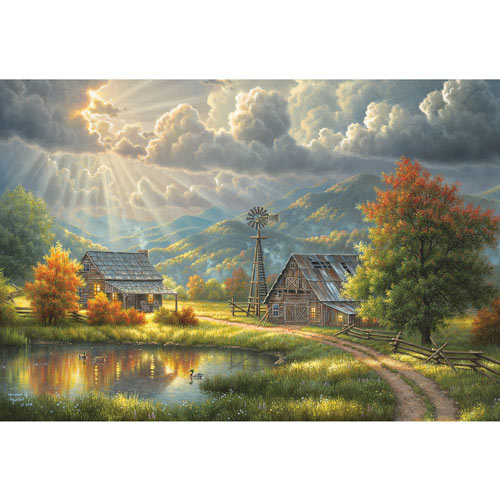 Grace 500 Piece Jigsaw Puzzle