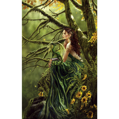 Queen of Fate 550 Piece Jigsaw Puzzle