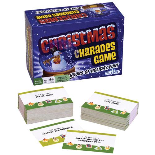 Christmas Charades Game