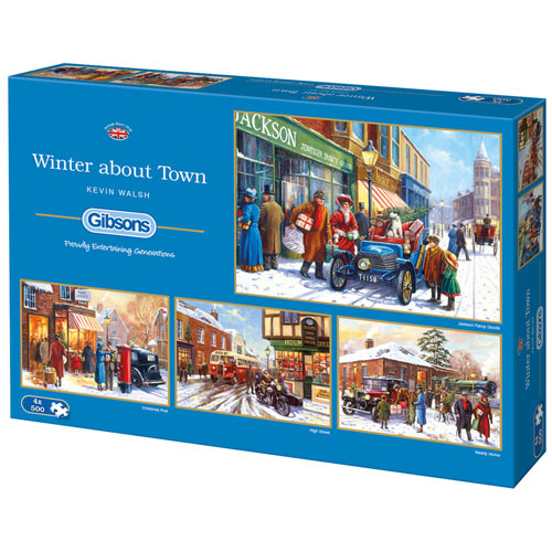 Kevin Walsh Winter About Town 4 in 1 Multipack Set