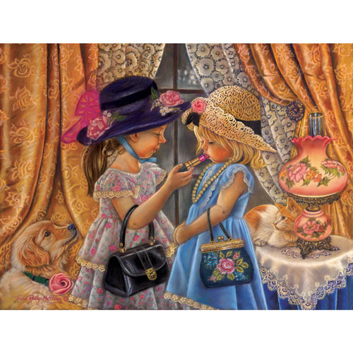 Playing Dress Up 300 Large Piece Jigsaw Puzzle