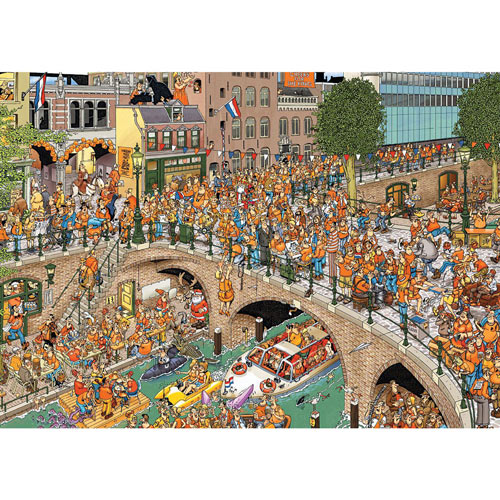 The Kings Day 1000 Piece Jigsaw Puzzle