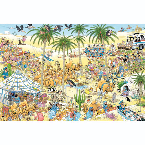 The Oasis 1500 Piece Jigsaw Puzzle
