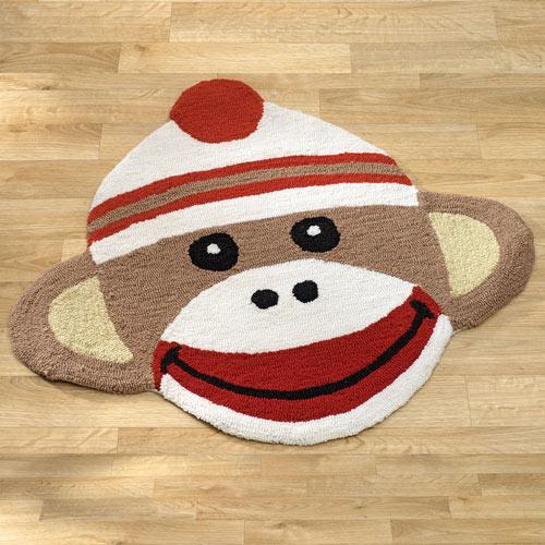 Sock Monkey Rug