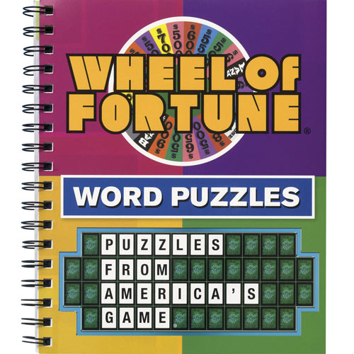 TV Puzzle and Game Books- Wheel of Fortune