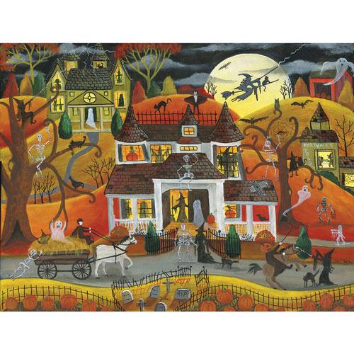 Halloween Fright Night 500 Piece Jigsaw Puzzle
