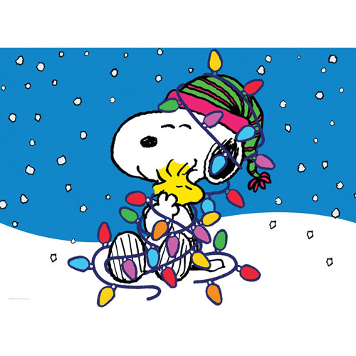 Holiday Snoopy 100 Large Piece Jigsaw Puzzle