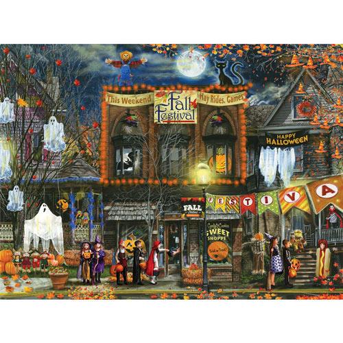 Fall Festival 500 Piece Jigsaw Puzzle