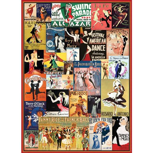 Vintage Dance 1000 Piece Collage Puzzle