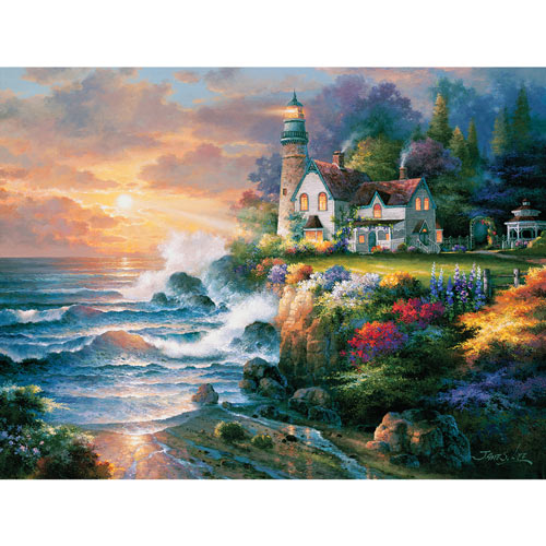 Twilight Beacon 300 Large Piece Jigsaw Puzzle