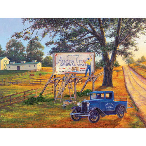 The Sign Painter 300 Large Piece Jigsaw Puzzle