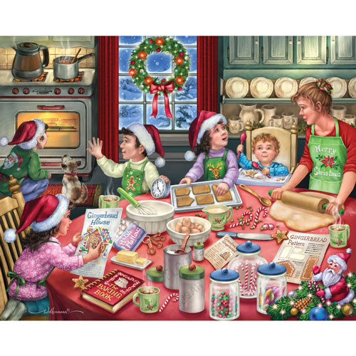 Gingerbread Party 1000 Piece Jigsaw Puzzle