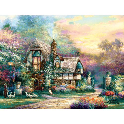 Weekend's Retreat 300 Large Piece Jigsaw Puzzle
