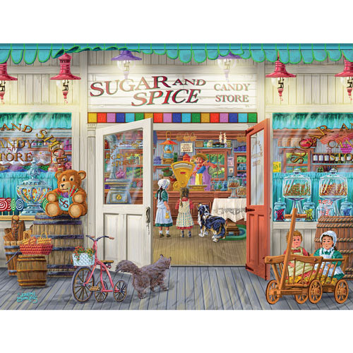 Sugar and Spice 300 Large Piece Jigsaw Puzzle