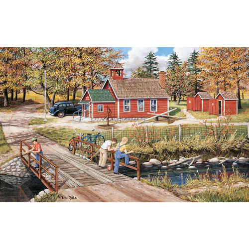 School Holiday 300 Large Piece Jigsaw Puzzle
